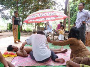 mission humanitaire microkinésithérapie Mission 2 mains au Cambodge